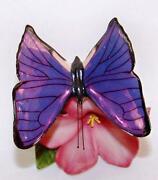 Franklin Mint Butterfly