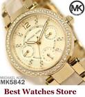 Michael Kors Women's Adult Ceramic Band Wristwatches
