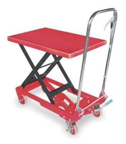 Portable Hydraulic Lift Cart : Lift carts