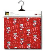 Wisconsin Badgers Fabric