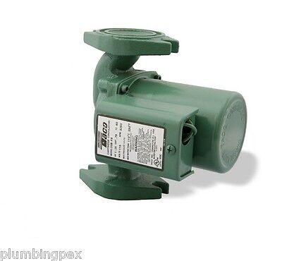 Taco 008-f6-1ifc Cast Iron Circulator Flanged Pump With Integral Flow Check Ifc