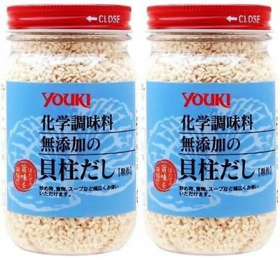 Youki scallop soup stock 110g x 2 bottles chemical seasoning additive-free