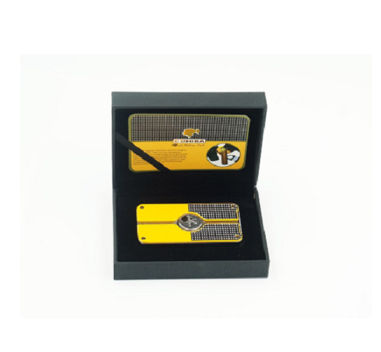 COHIBA Classic 3 TORCH Jet Flame Cigar Metal Lighter w/punch