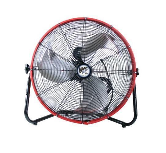 NEW MaxxAir HVFF 20S RED Shroud Floor Fan 20 Inch Red