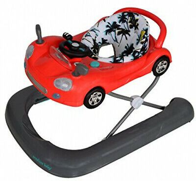 Creative Baby Cruiser 2 in 1 Walker Integrated Safety Friction Pads Cool Breeze