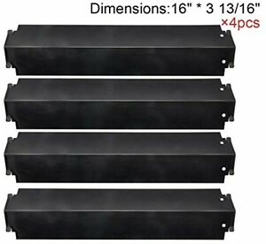 kenmore grill parts. gas grill 4 heat plates shield porcelain steel bbq parts charbroil kenmore sears o