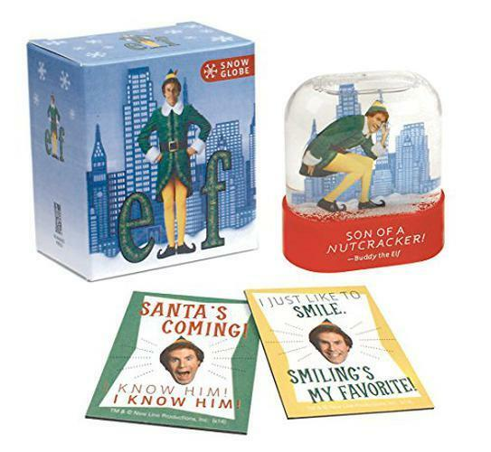 Elf Snow Globe (Running Press Mini Kit) by  | Paperback Book | 9780762454839 | N