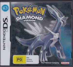 Pokemon Diamond Version (Nintendo DS, 2007) NEVER USED - GENUINE AUSSIE SELLER