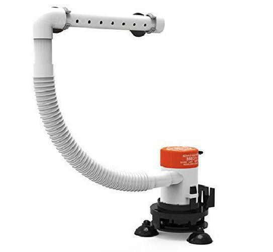 Seaflo-Portable 12v Livewell Aeration Pump System Kit for Bo