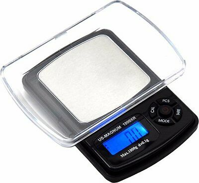 Us-magnum1000xr Precision Pocket Lcd Digital Scale Weighs Gozgndwtctozt