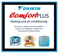 Heating, air conditioning, refrigeration, heat pumps