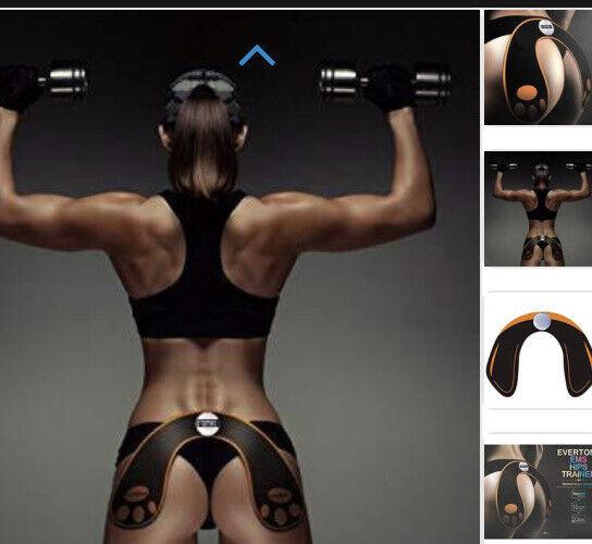 NIB IGIA Evertone Hip Thigh Toner EMS Electro Muscle Stimulation Tone Sculpt