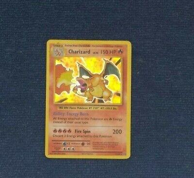 Charizard HOLO RARE 11/108 Pokemon XY Evolution Anniversary Holographic Foil LP