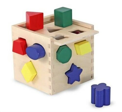 Shape Sorting Cube Toy  - $17.51