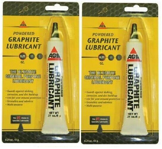 AGS Extra Fine Graphite Dry Powder Lubricant – Pack of 2! Building & Hardware
