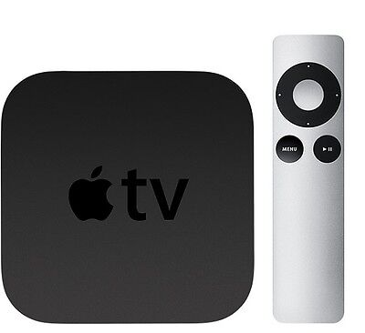 Apple Tv 3Rd Generation Digital Hd Media Streamer W Cable And Remote Refurbished