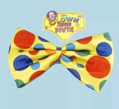 Jumbo Bowtie Clown Foam Bow Tie Polka Dot Funny Huge Large Big Costume Bow Tie Jumbo Polka Dot