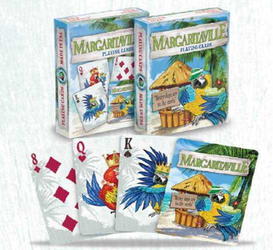 Margaritaville Playing Cards Poker Size Deck USPCC Custom Limited Edition Sealed