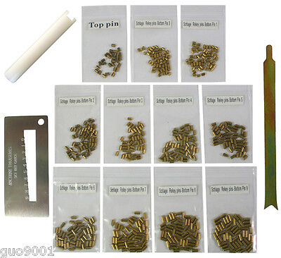 Custom Schlage Rekey Locksmith Pins Kits Bottom Pin 50 Pc 3 Tools Free Shipping
