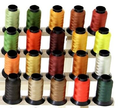 20 Spools AUTUMN FALL COLORS Embroidery Machine Thread
