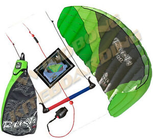 HQ-Rush-4-Pro-300-3M-3-Line-Trainer-Kite-Kiteboarding-Power-Traction-Snow-Surf