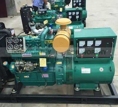 ECO Brand New 50000W 50KW 50HZ Diesel Powered Generator Free Ship to WorldWide