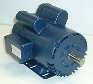 leeson 120554 5 hp 3450 rpm 230v single phase air Motor Boat Baldor Motors