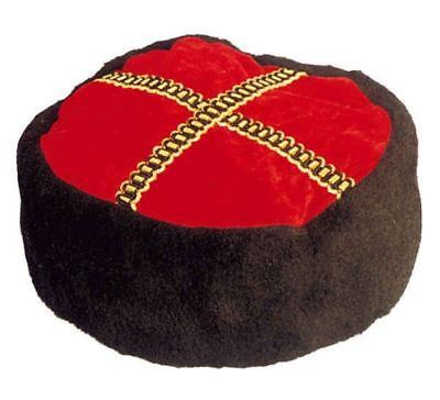 Kosakenhut Hut zum Russen Kostüm an Karneval - Kosaken Hut Kostüm