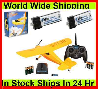 HobbyZone Champ RTF RC R/C Air-Plane / Airplane w/ 3CH Radio & 3x Battery on Rummage