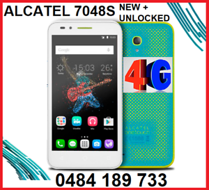 2 x NEW ALCATEL 7048S  4G UNLOCKED  5 INCH 8MPX CAMERA $125