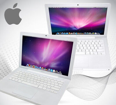 """Apple MacBook 13"""" Core 2 Duo  2.0GHz 2GB 160GB HDD MB404 2008 A1181"""