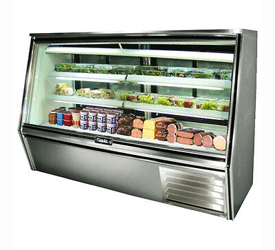 Leader Hdl72 72x34x53-inch Refrigerated Deli Case Self-contained Gravity Coil