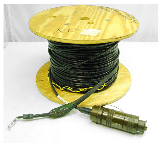 Optical Cable Corporation Military Fiber Optic Cable Single-Mode Ultra-Fox