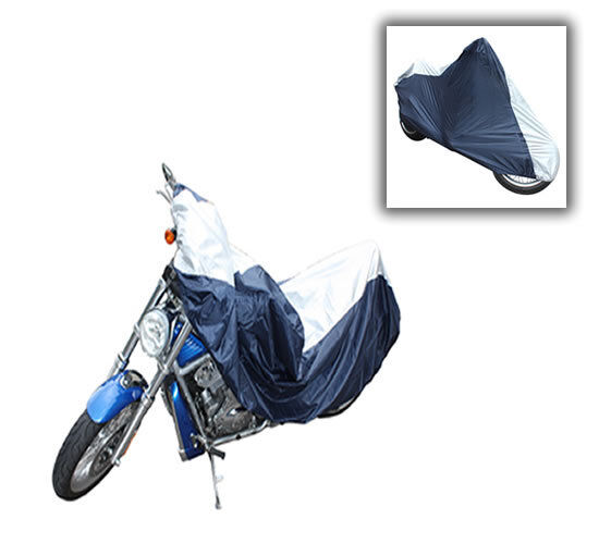 LARGE MOTORBIKE MOTORCYCLE BREATHABLE COVER DUST RAIN RESISTANT 229x124x99cm