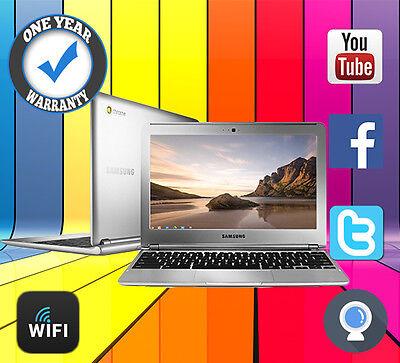 "SAMSUNG CHROMEBOOK 11.6"" CHROME OS WEBCAM HDMI NOTEBOOK REFURBISHED CHEAP LAPTOP"