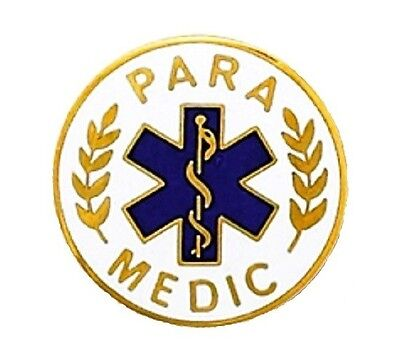 para medic lapel pin paramedic ems medical emblem star of life pins 974 new