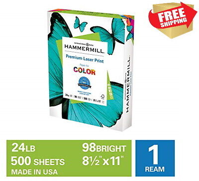 Hammermill Copying And Premium Laser Printing Paper 24lb Ream 8.5x11 500 Sheets