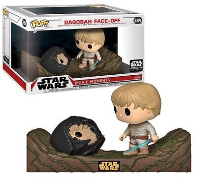 Star Wars Funko POP #284 Dagobah Face Off Movie Moments Luke Smugglers Bounty