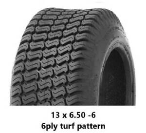"""13 X 6.50 - 6"""" TURF TYRES 6PLY - RIDE ON MOWERS/TROLLEYS Midvale Mundaring Area Preview"""