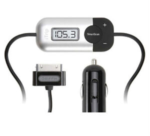 Griffin iTrip Auto FM Transmitter Car Charger for iPod iPhone 4S Dock Connector