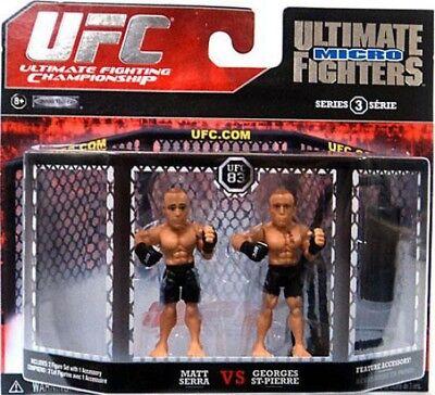 Matt Serra vs. Georges St-Pierre Mini Figure (George St Pierre Vs Matt Serra 2)