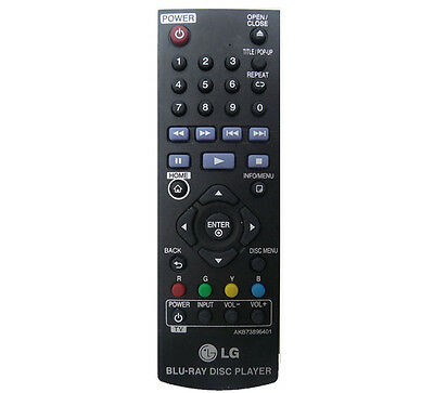 Original Lg Remote Control for BP340 Blu-ray Disc Player