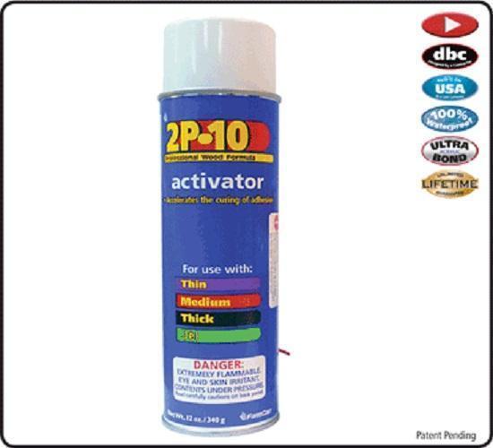 FastCap Activator For All 2P-10 Adhesives, 12 oz Aerosol
