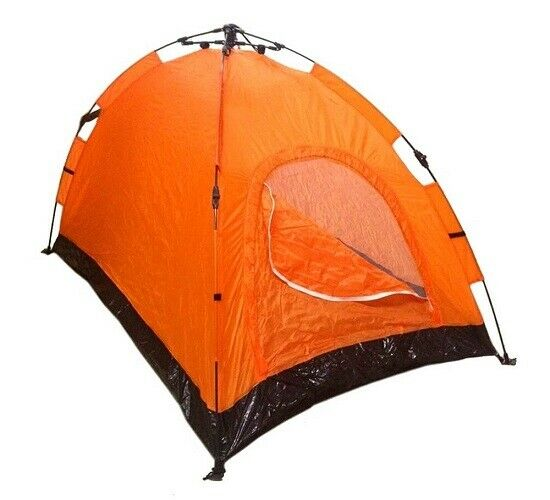 Pop Up Tent One Step Setup, 2-Way Zippers, Insect Screen, Carrying Bag, Stakes - $31.90