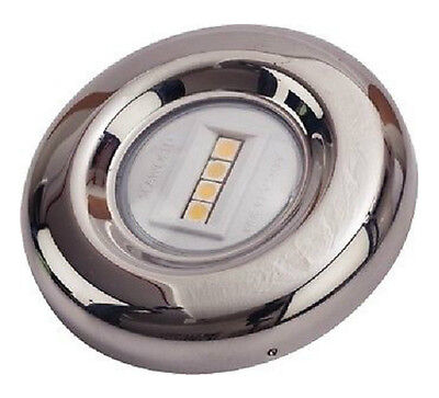 "LED Marine Transom Stainless Steel Round Anchor STERN LIGHT 3.25"" SDG 4000331"