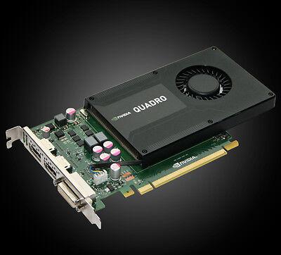 Nvidia Quadro K2000, 2GB GDDR5, DVI, 2x DisplayPort (PNY VCQK2000-PB) comprar usado  Enviando para Brazil