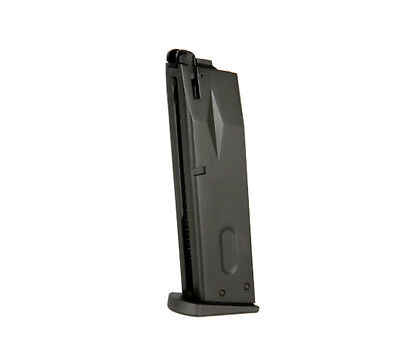 HFC 16rd Airsoft Magazine Clip for Green Gas Powered Pistol Gun Black -