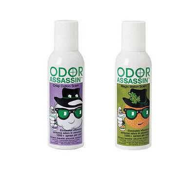 Odor Assassin Natural Eliminator Deodorizer Bath Kitchen NEW!
