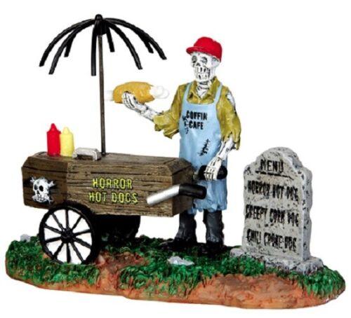 Lemax Spookytown Ghoul Hot Dog Vendor #42215 NIP