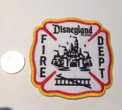 """Disneyland California Fire Department Firefighter Patch Disney Mickey Mouse 3.5"""""""